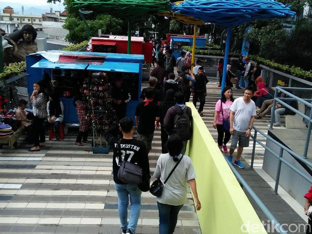 Pemkot Bandung Siapkan Rp 23 M Perpanjang Skywalk Cihampelas