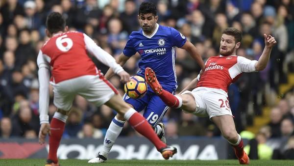 Chelsea Sementara Ungguli Arsenal 1-0