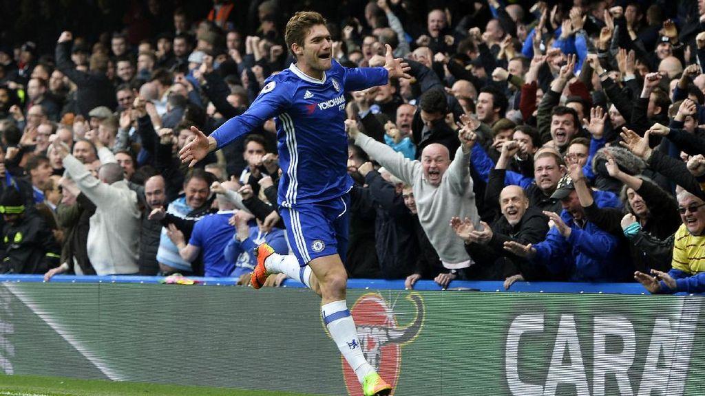 Kalahkan Arsenal, Chelsea Kokoh di Puncak Klaseman