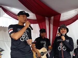 Agus Yudhoyono: Bersepeda Bisa Kurangi Macet dan Polusi