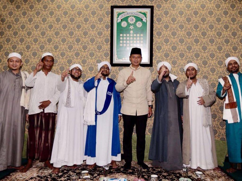 Agus Yudhoyono Hadiri Pengajian Majelis Nurul Musthofa