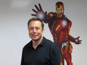Iron Man Ingin Hubungkan Otak Manusia ke Komputer