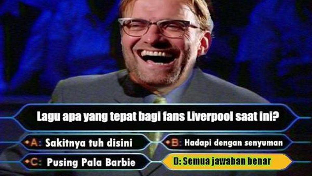 Liverpool Kembali Jadi Bahan Olok-olok Netizen