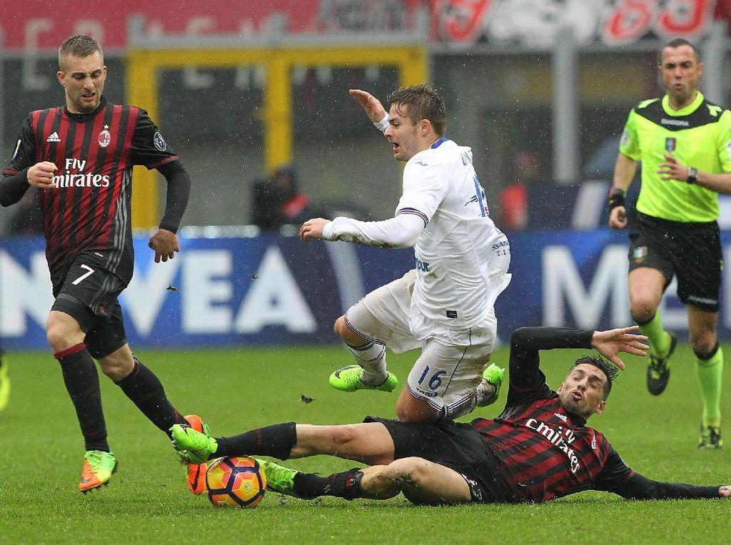 Milan Dikalahkan Sampdoria di San Siro
