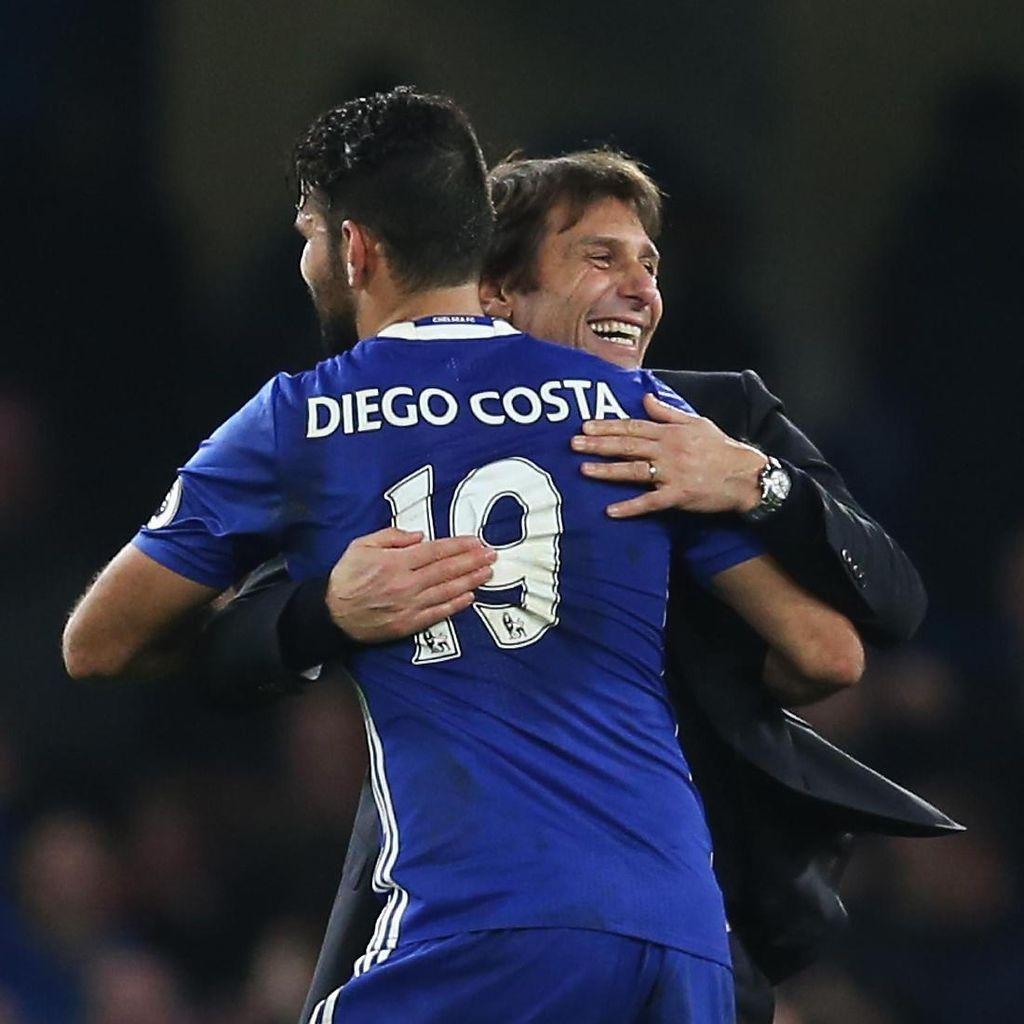 Costa Akui Awalnya Tak Akur dengan Conte karena Memaksa Pulang ke Atletico