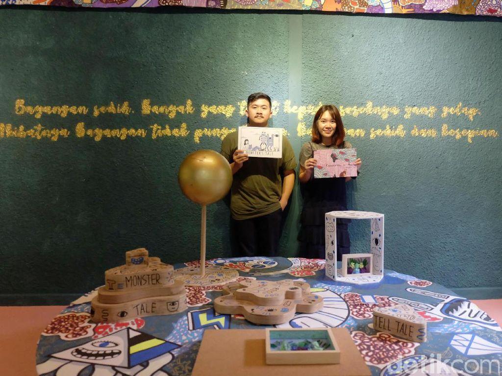 Sisi Lain Margaret Yap dan Addy Debil Dipamerkan di Suar Artspace