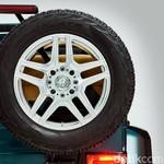Mercedes-Benz Godok Offroader Beratap Terbuka