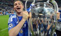 Frank Lampard yang sudah memenangi banyak trofi bersama Chelsea di masanya