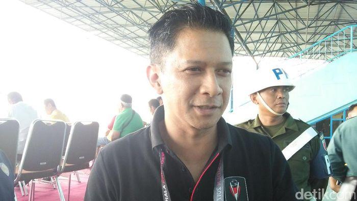 Wakil ketua Umum PSSI, Iwan Budianto (Muhammad Aminudin/detikSport)