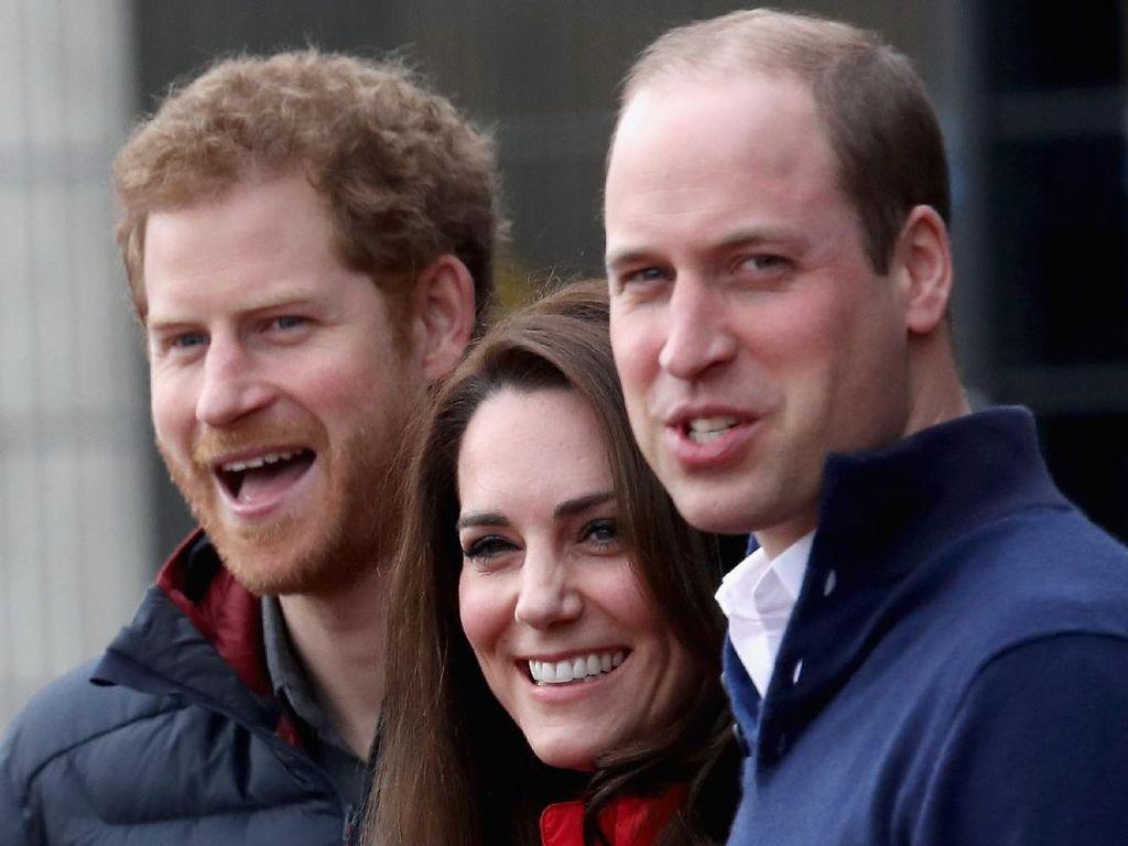 Hubungan Pangeran William-Harry Disebut Meregang Sejak 2005
