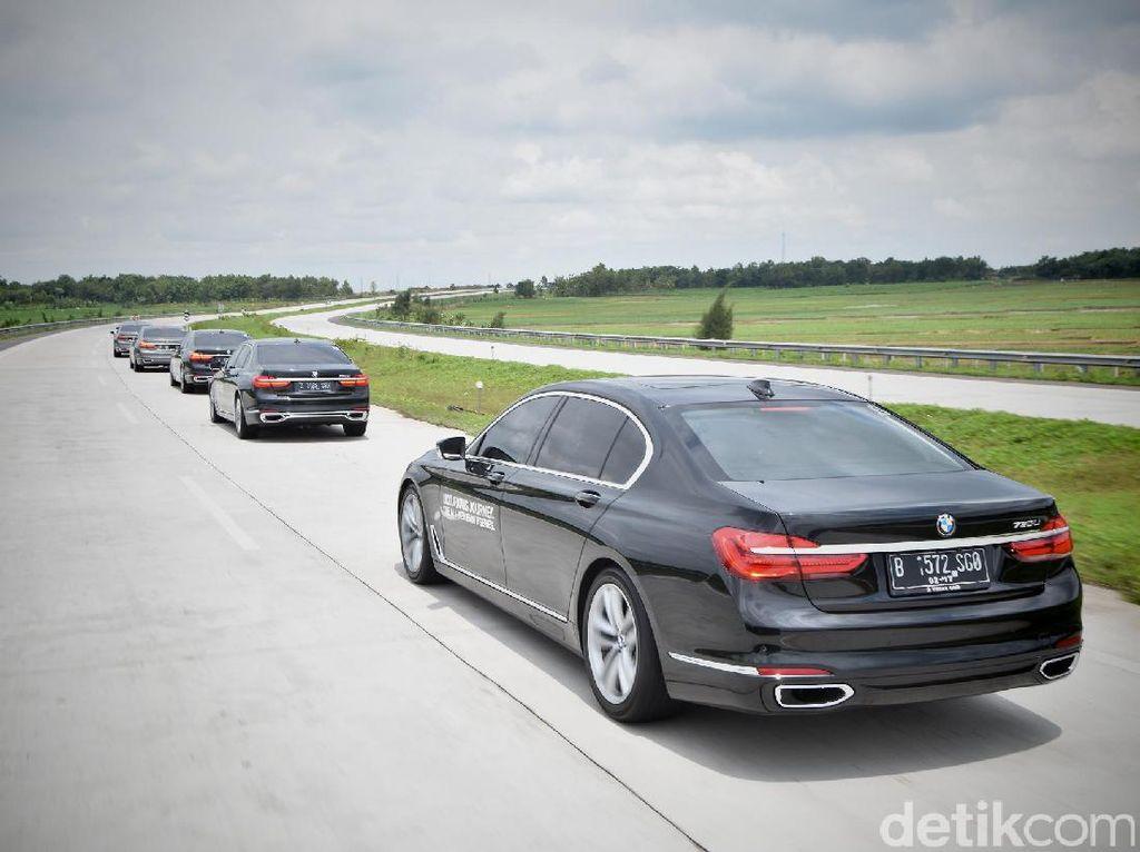 BMW Sudah Sodori Presiden Jokowi Mobil Kepresidenan