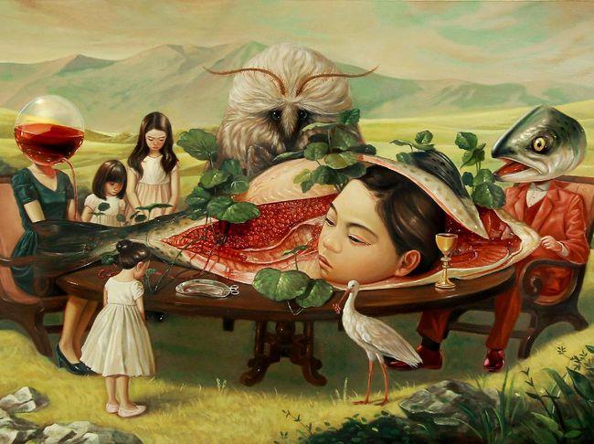 Terbaru 47 Gambar Lukisan Manusia Dengan Alam Benda