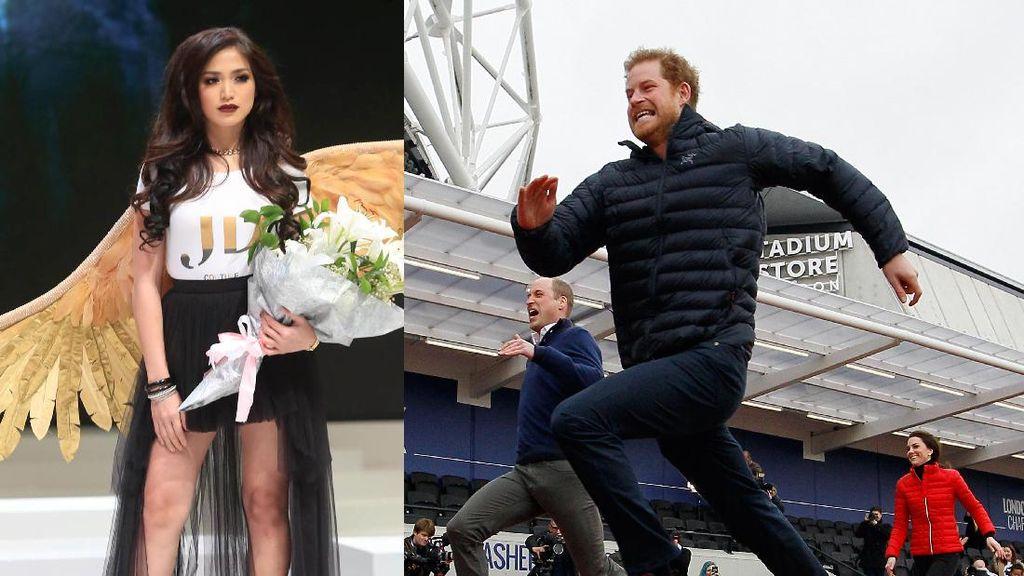 Seksinya Jessica Iskandar, Pangeran Harry hingga Kate Middleton Adu Lari