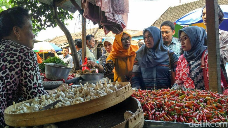 Cabai Rawit Tembus Rp 140.000/Kg, Pemkot Kediri Sidak ke Pasar