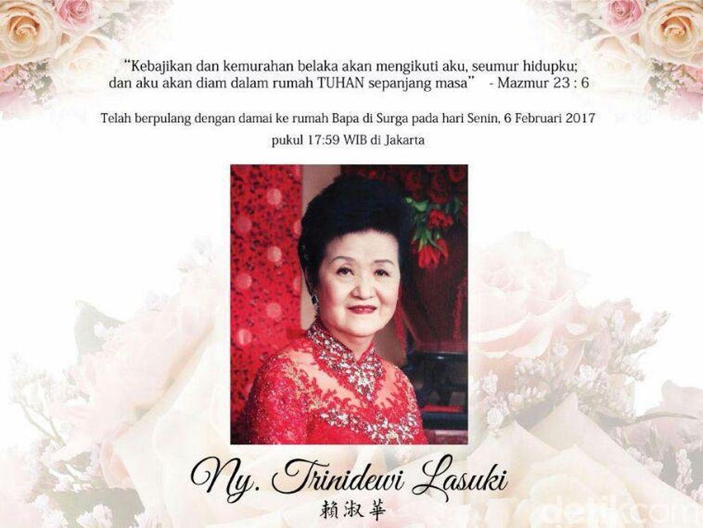 Istri Pemilik Sinar Mas Group Wafat