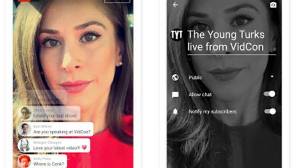 YouTube Live Ramaikan Tren Siaran Langsung Pakai Ponsel