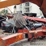 Ngeri, BMW M2 Ini Tertimpa Crane
