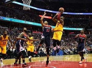 Sengit, Cavaliers Tundukkan Wizards lewat Overtime