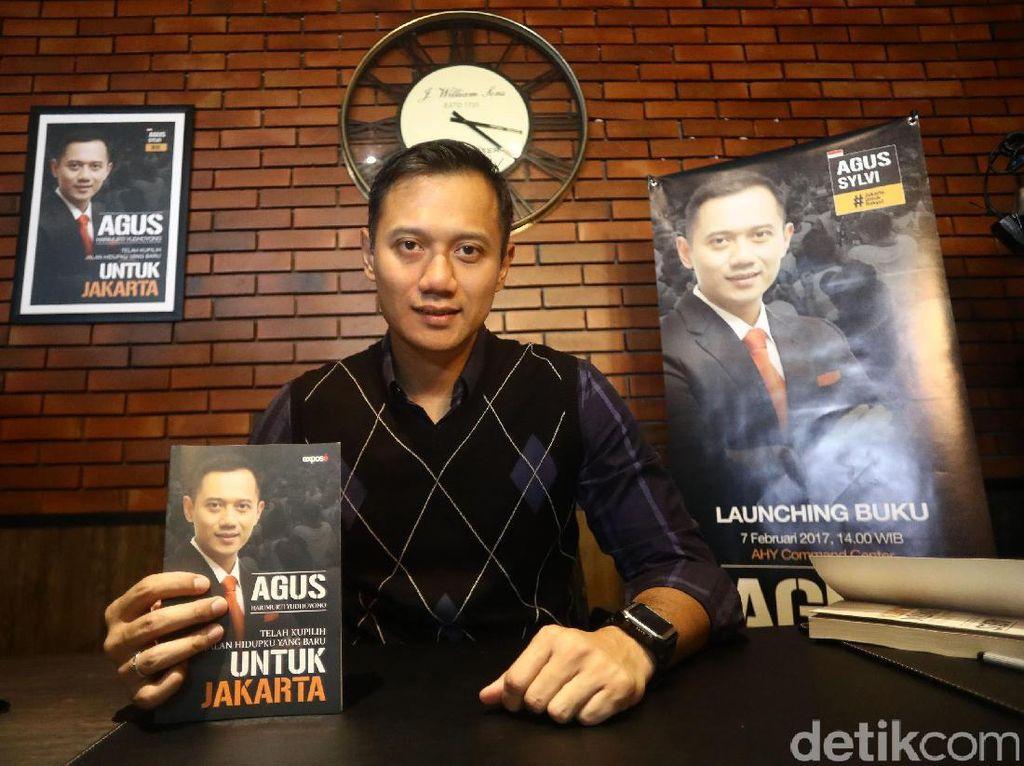Agus Yudhoyono Luncurkan Buku Untuk Jakarta