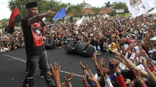 Dhani dan Mulan Jameela Nyaleg Agar Prabowo Jadi Presiden