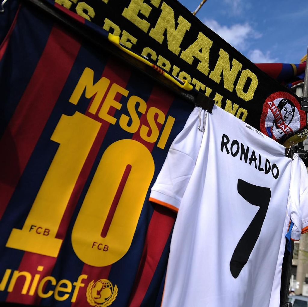 Hoax Marak, Messi dan Ronaldo Juga Pernah Jadi Korban