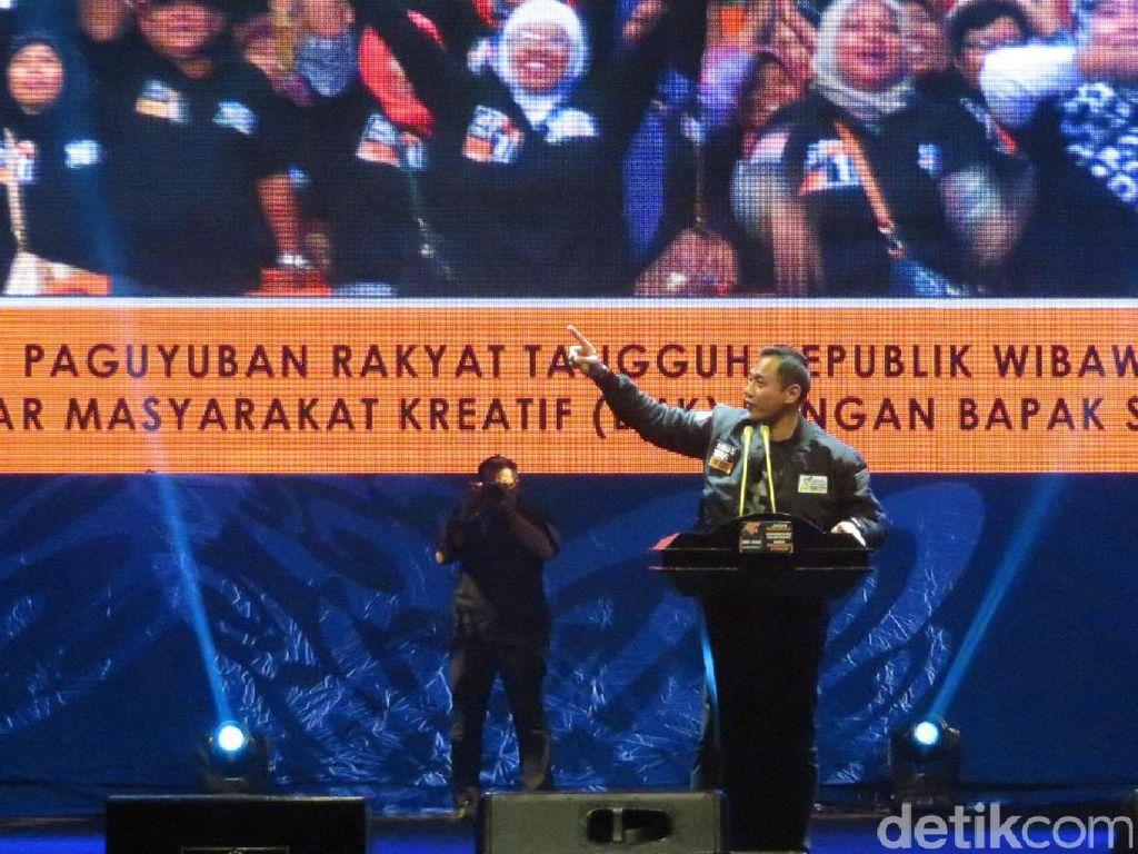 Bicara ke Relawan, Agus Yudhoyono Singgung Pemimpin Mencla-mencle