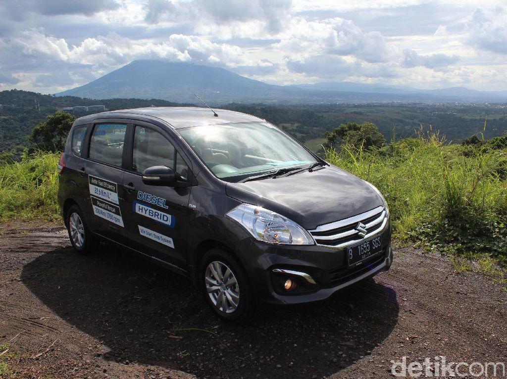Suzuki Akan Buat Ertiga Hybrid, Harga Rp 220 Juta