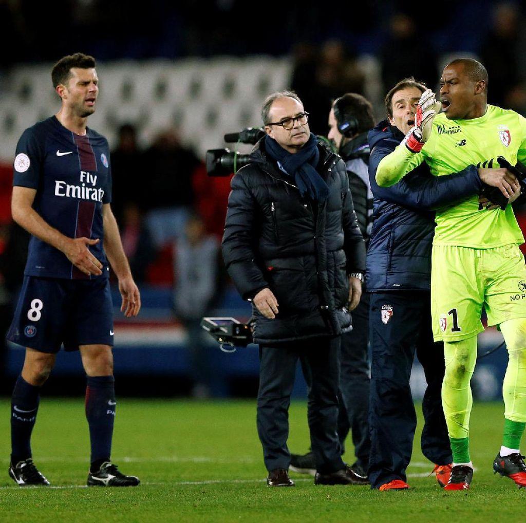Wasit Diklaim Minta Maaf ke Lille Usai Laga Lawan PSG