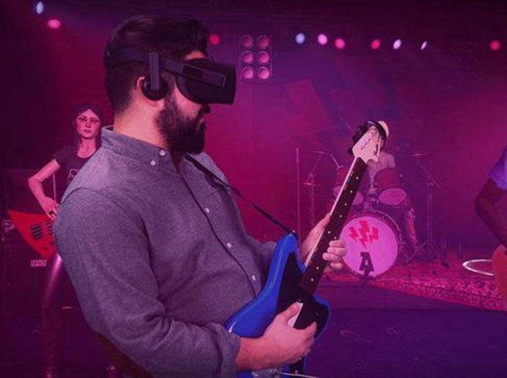 Rock Band VR Tawarkan Sensasi bak Bintang Rock