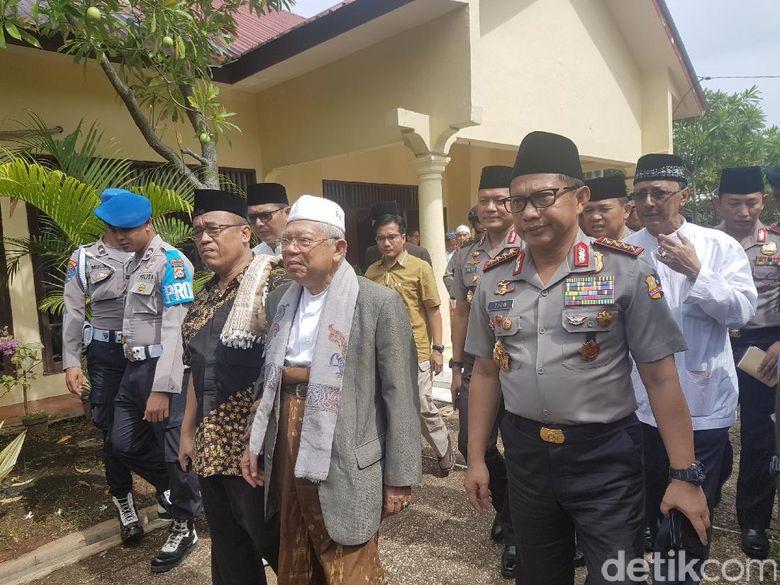 Bertemu Maruf Amin, Kapolri Ajak NU Aktif Jaga NKRI