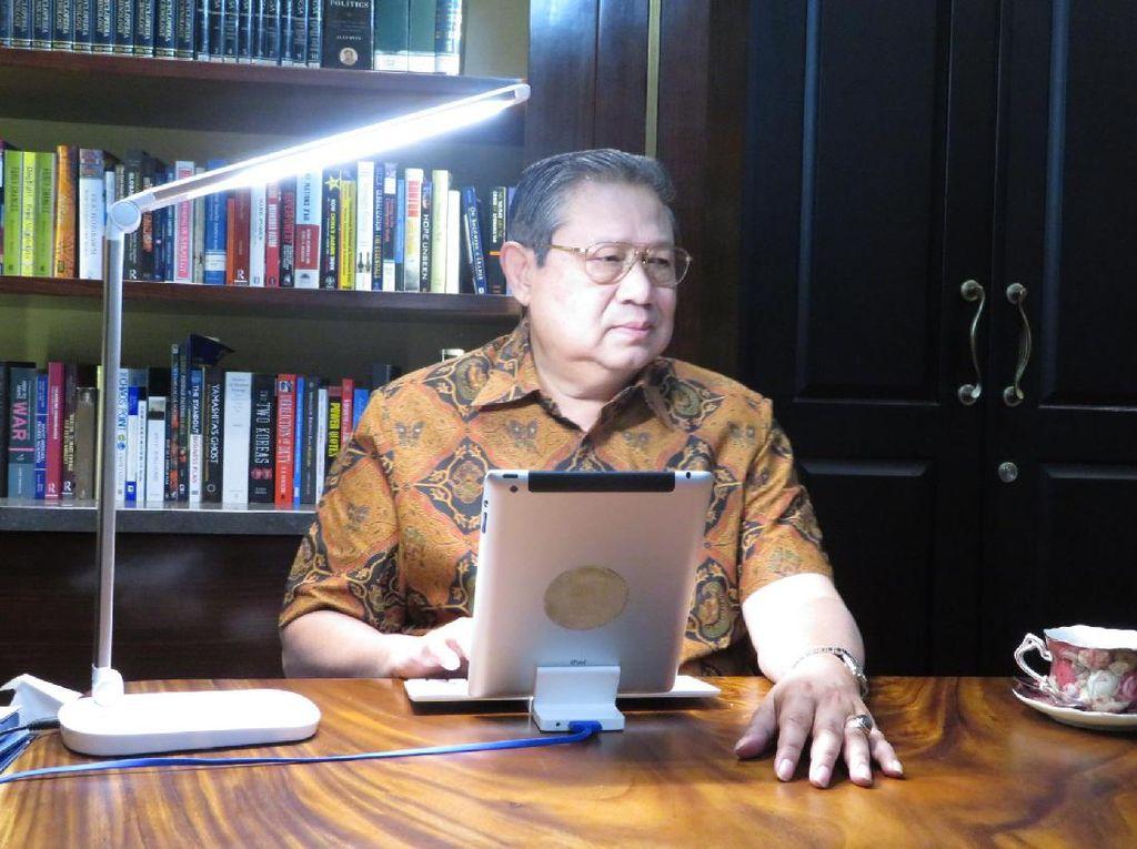 Kata SBY soal Elektabilitas Agus yang Naik-Turun di Tiap Survei