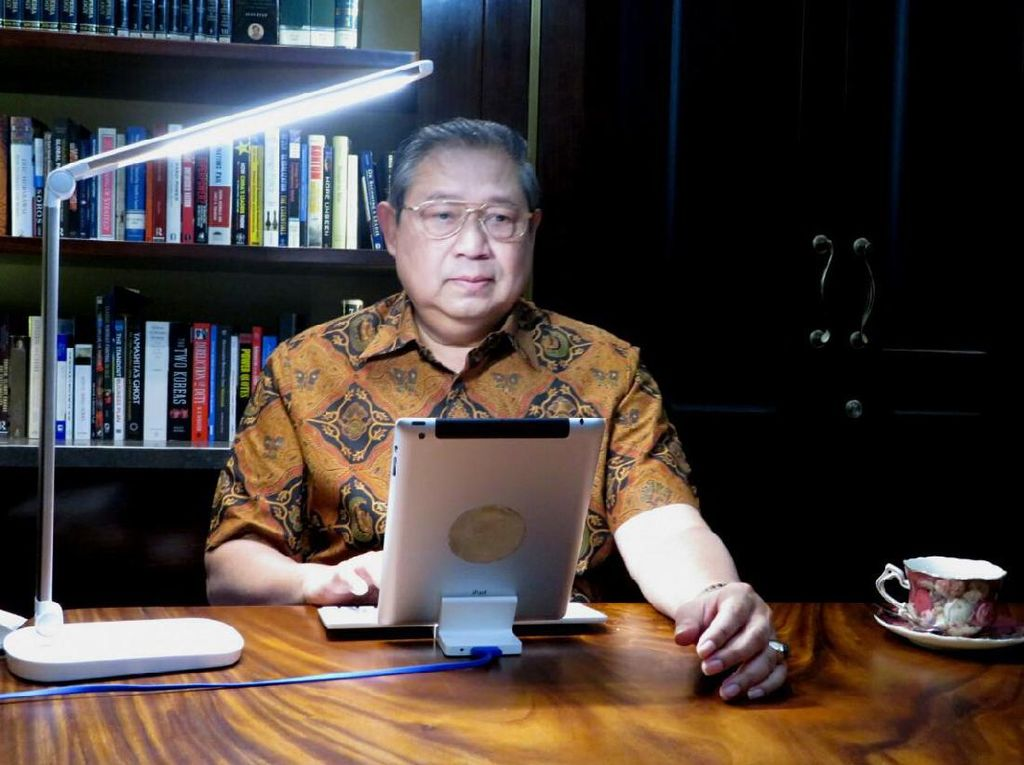 Tak akan Hadiri Debat, SBY: Saya Yakin Agus Mampu