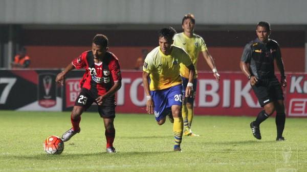 Hasil Laga Lawan Persipura Sesuai Harapan Pelatih Gresik United