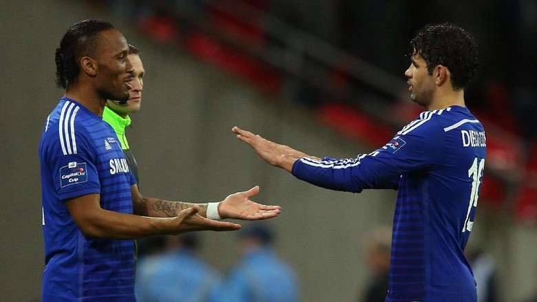 """""""Bandar Bola - Costa Akan Selalu Berterima Kasih Kepada Drogba"""""""