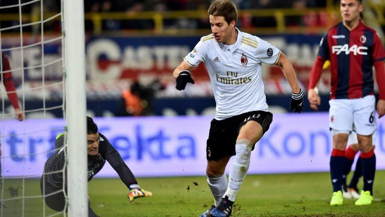 9 Pemain Milan Kalahkan Bologna