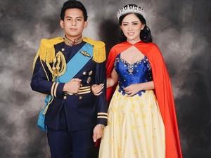 Mewah, Rachel Vennya Ganti Baju <i>Princess</i> 3 Kali di Resepsi Pernikahan
