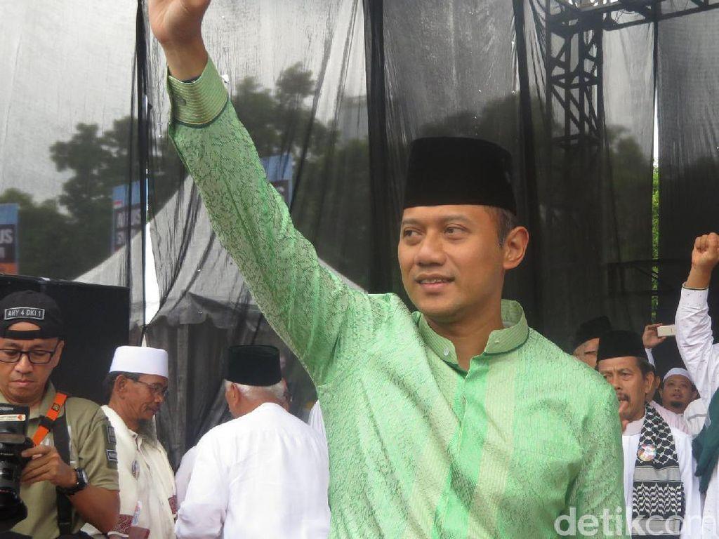 Hadiri Istigasah Ormas Islam DKI, Agus Disapa Gubernur Terpilih