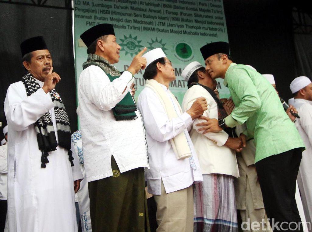 Istigasah dengan Ormas Islam DKI, Agus Yudhoyono Bicara soal Ulama