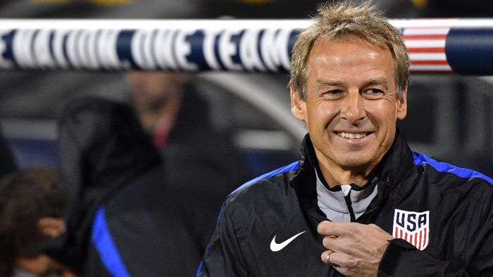 Juergen Klinsmann jadi pelatih baru Hertha Berlin (Jamie Sabau/Getty Images/AFP)