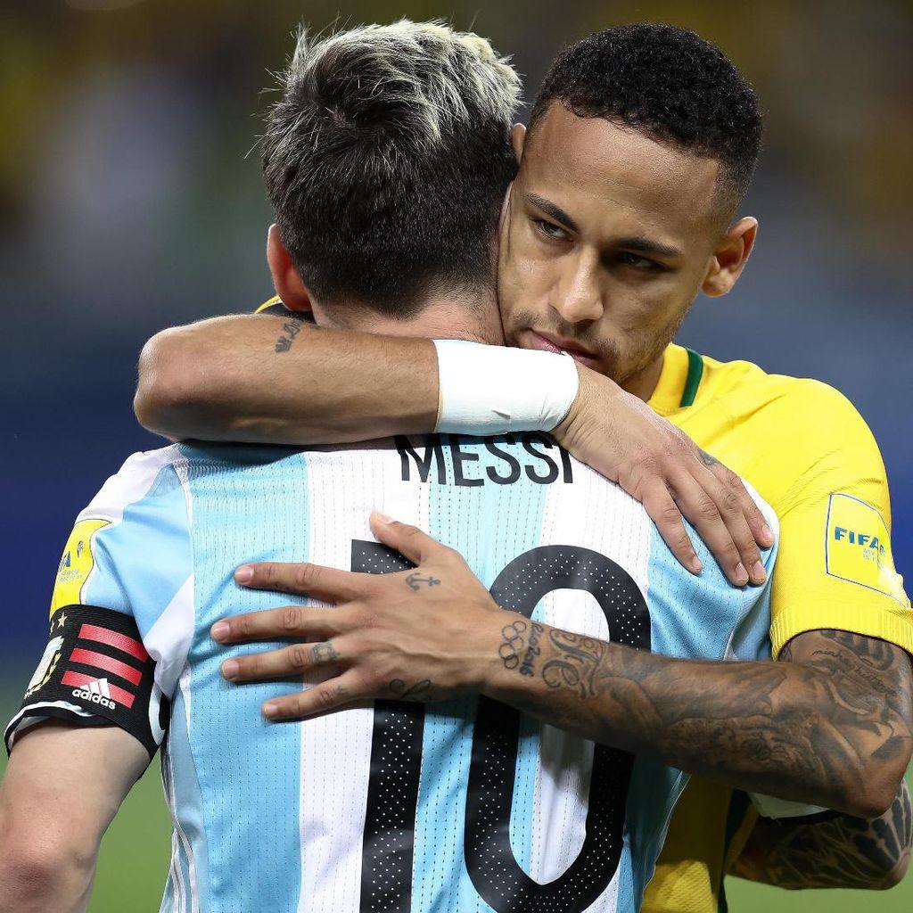 Juni, Messi dan Neymar Duel di Melbourne