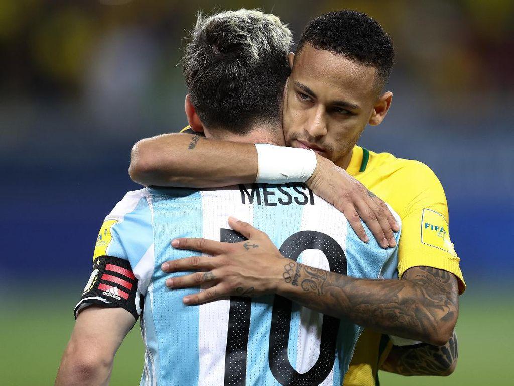 Messi Desak Barcelona Rekrut Neymar Lagi