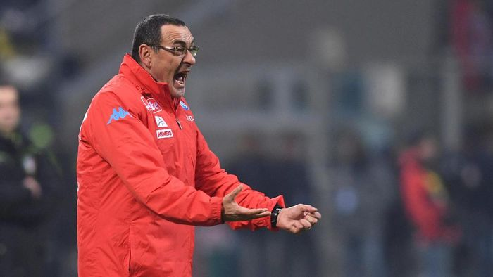 Manajer baru Chelsea, Maurizio Sarri. (Foto: Alberto Lingria/Reuters)