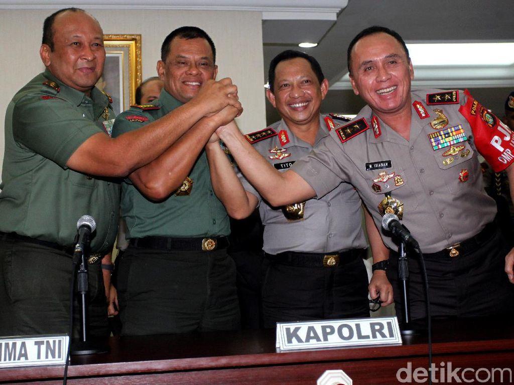 Panglima TNI dan Kapolri Bahas Aksi 112
