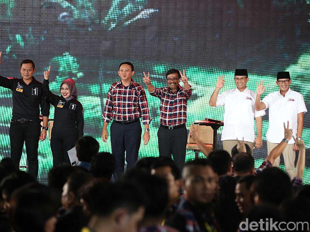 Melihat Kegiatan Cagub Cawagub DKI Jakarta Menutup Masa Kampanye