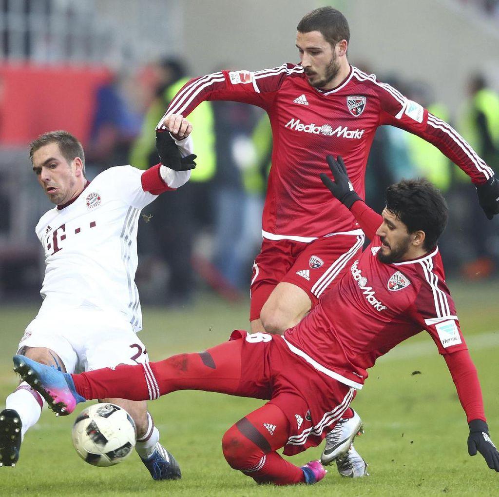 Gol Vidal dan Robben di Menit-Menit Akhir Menangkan Bayern