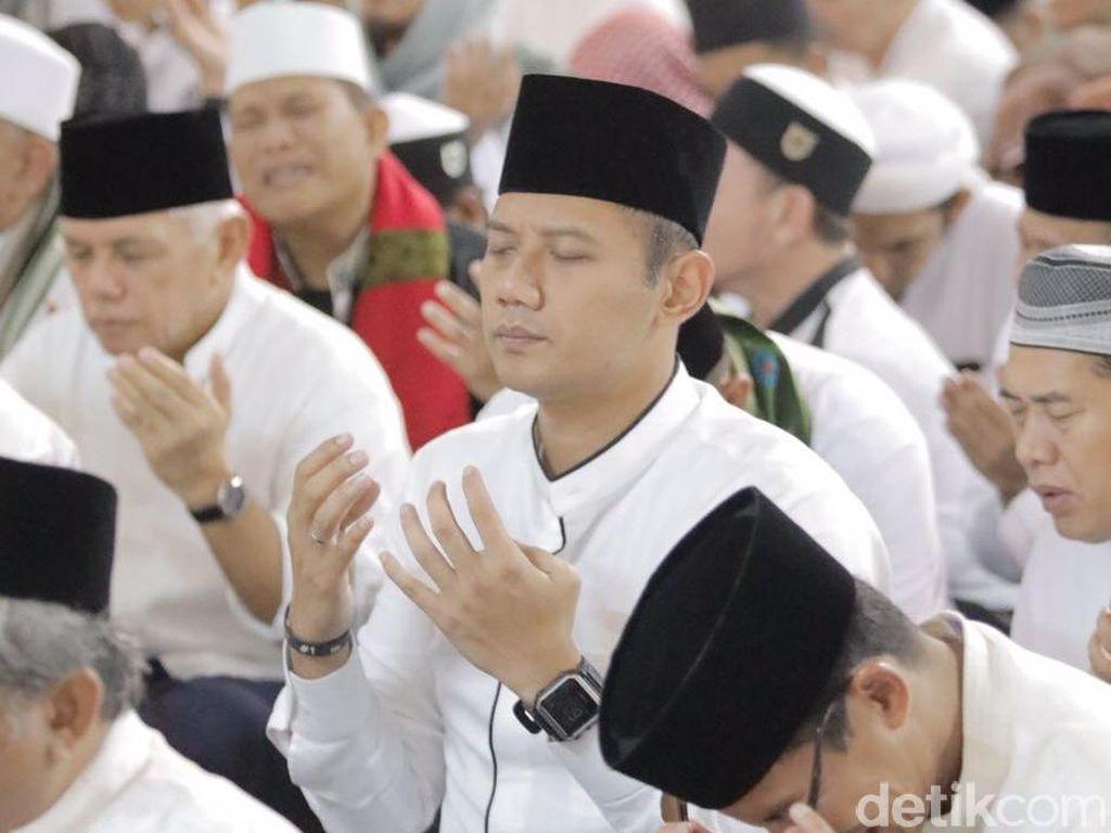 Agus Hadir di Istiqlal, Timses: Untuk Berterimakasih ke Umat Islam
