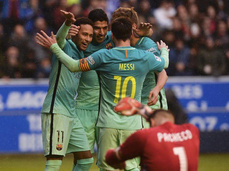 """Bandar Poker - Barcelona Pesta Gol Ke Gawang Alaves Skor 6-0"""