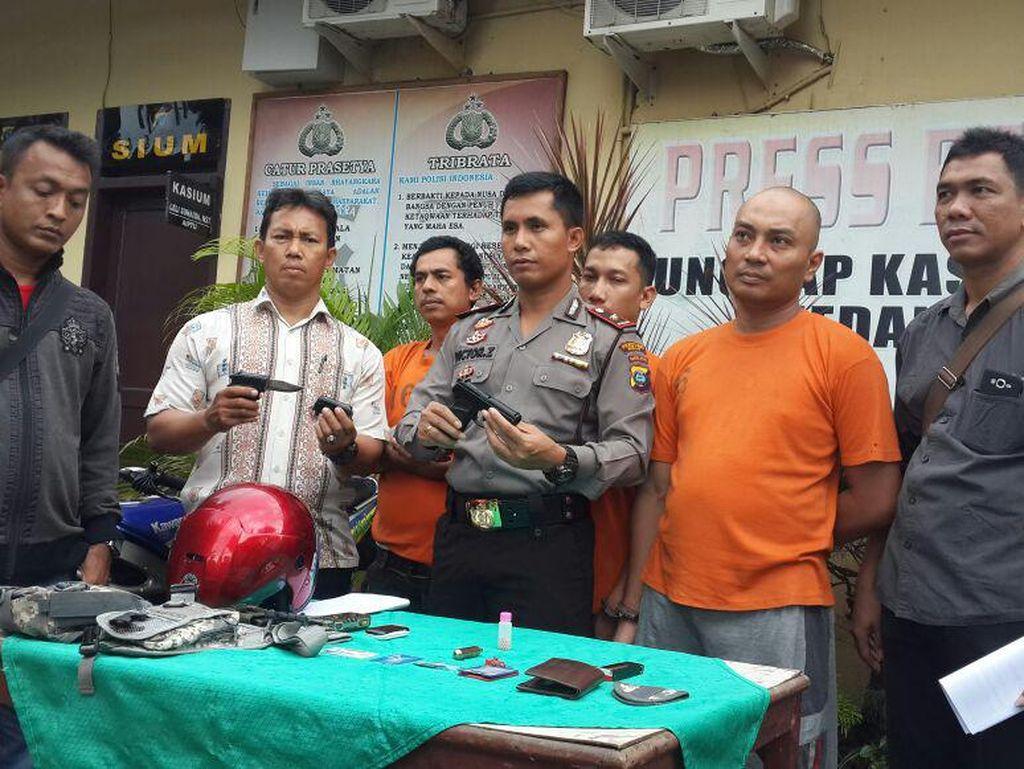 Polisi Tangkap Pecatan Marinir yang Jadi Begal di Medan