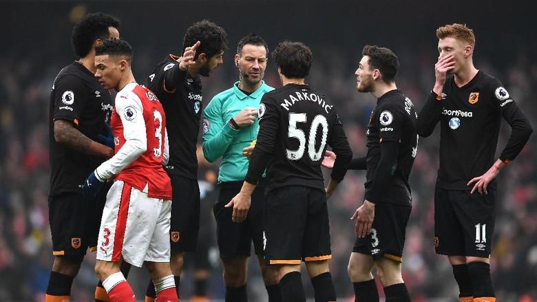 """Bandar Bola - Wasit Sudah Minta Maaf Soal Gol Handball Sanchez"""