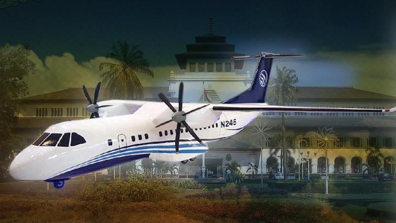 Komponen Lokal di Pesawat N245 Diperkirakan 45-50%
